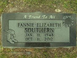 Southern, Fannie,3, S-122