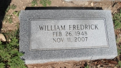 William Fredrick (Fred) Baker